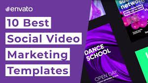 10 Best Social Media Marketing Video Templates [2019] - YouTube