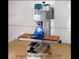lobo cnc milling machine project