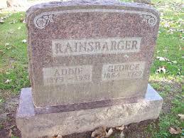 Addie Fisher Rainsbarger (1879-1931) - Find A Grave Memorial