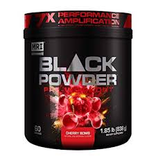 mri black powder pre workout powder