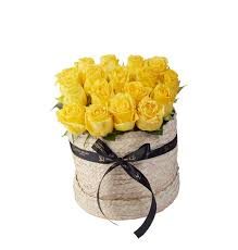 ورد أصفر طبيعي من سالي حلمي لبيع النباتات والورد اونلاين للقاهرة