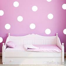 Cute Polka Dot Art Wall Sticker For Kids Room Girl Bedroom Decor Fun Round Dots Vinyl Decal Nursery Room Mural D928 Home Decor Stickers Home Decor Stickers Wall From Fst1688 5 87 Dhgate Com