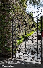beautiful italian metallic black garden
