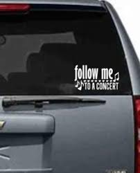 Concert Decal Music Sticker Rock And Roll Car Decal Etsy