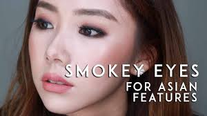 smokey eye look for asian eyes