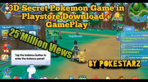 3D High Graphic Pokemon Game in Playstore Download+Game Play HD ...