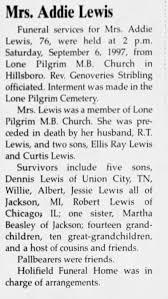 Addie Lewis - Newspapers.com