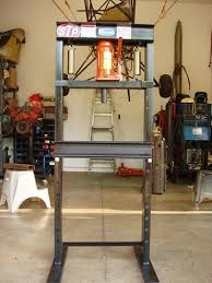 homemade hydraulic press plans and