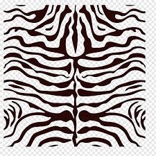 black and blue zebra print ilration