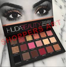 huda beauty rose gold eyeshadow for