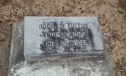 Addie Mitchell Fulton (1896-1963) - Find A Grave Memorial