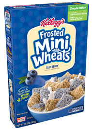 frosted mini wheats blueberry cereal