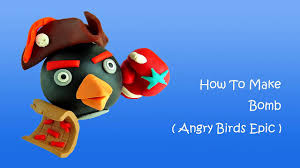 play doh angry birds epic bomb - how to make with playdoh – Видео  Dailymotion