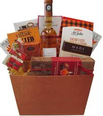 wine gift basket ideas by the sweet