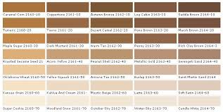 50 Awesome Light Brown Paint Color Chart