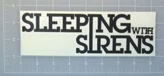 Sleeping With Sirens Sticker For Sale Online Ebay