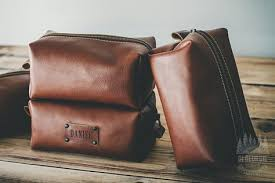 mens toiletry bag leather toiletry bag