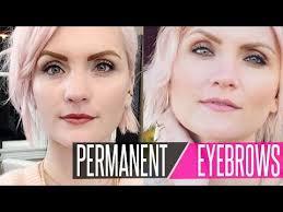 permanent makeup softap eyebrows you
