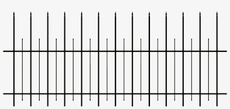 Creepy Clipart Fence Clip Art 1585x680 Png Download Pngkit