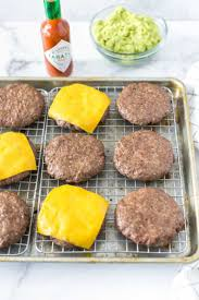 easy oven baked hamburgers simply