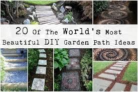 most beautiful diy garden path ideas