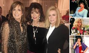 Eighties soap sirens Dame Joan Collins, 86, Linda Gray, 79, and ...