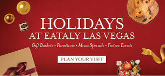 holidays in las vegas at eataly