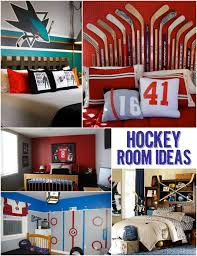 cool hockey themed room ideas for kids