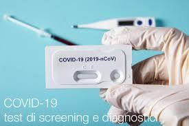 COVID-19: test di screening e diagnostici - Certifico Srl