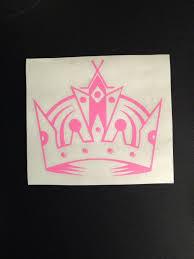 La Kings Crown Los Angeles Hockey Sports Sticker Decal Vinyl Car Sti Rkcreativeimpressions