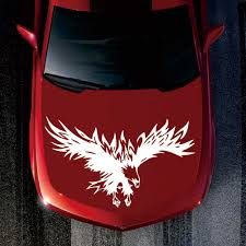 Universal Tribal Eagle Pattern Car Stickers Reflective Truck Suv Hood Decals Cool Design Car Accessories Car Stickers Aliexpress