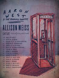 Allison Weiss is going on tour with Aaron West & The Roaring Twenties! –  SideOneDummy