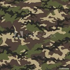 camouflage seamless woodland pattern