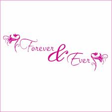 Forever And Ever 2 Vinyl Decal Small Hot Pink Walmart Com Walmart Com