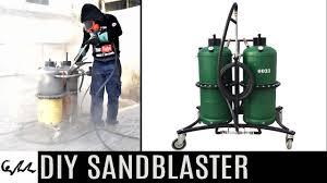 diy sandblaster you