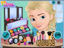 cute elsa makeup game fun games for