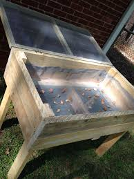 diy raised garden bed with hinged and