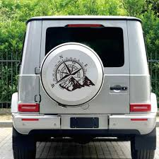 Home Decor 60 X 50cm Pvc Mountain Compass Navigation Car Body Door Hood Stickers Wall Decal Medicareresources Org