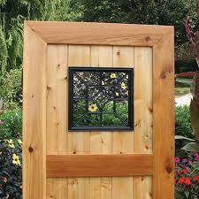 Garden Home Gates Nuvo Iron Square Decorative Insert For Fencing Acw54 Decorative Fences Outdoor Decor