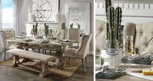 attractive elegant dining table set