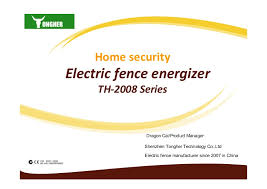 Security Electric Fence Introduction
