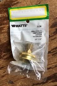 watts 3 4 inch female garden hose by 1