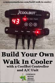 cooler with a coolbot controller