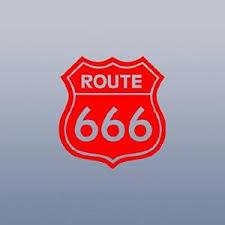Buy Route 666 Satanic Rob Zombie Devil White Silhouette Car Window Vinyl Sticker Decal In Cheap Price On Alibaba Com
