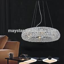 crystal ring led ceiling light e14 base