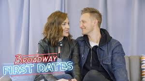 Broadway First Dates: Laura Osnes and Nathan Johnson - YouTube
