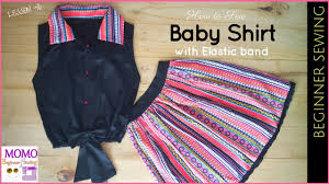 sew baby shirt beginners sewing