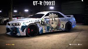 Anime Cars Decals Need For Speed 2015 Youtube