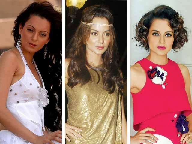 Image result for Kangana then and now'""