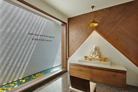 puja room wall ceiling designs